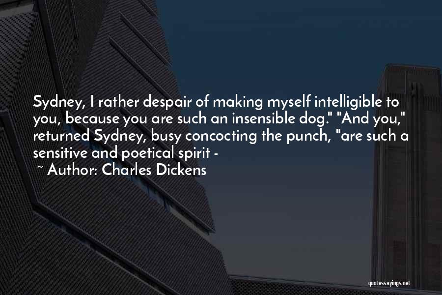 Intelligible Quotes By Charles Dickens