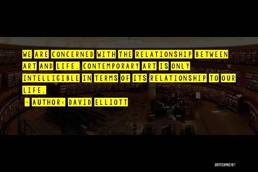 Intelligible Quotes By David Elliott