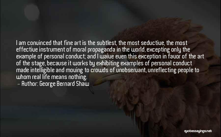 Intelligible Quotes By George Bernard Shaw