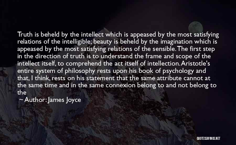 Intelligible Quotes By James Joyce