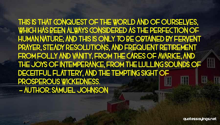 Intemperance Quotes By Samuel Johnson