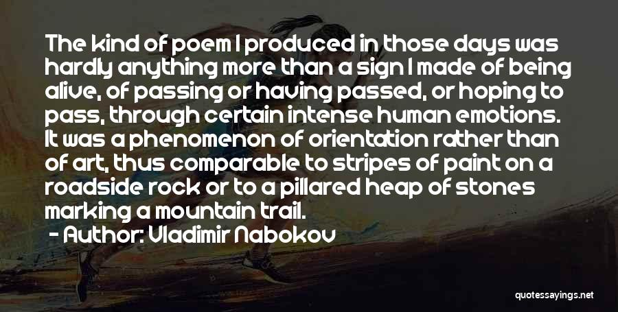Intense Emotions Quotes By Vladimir Nabokov