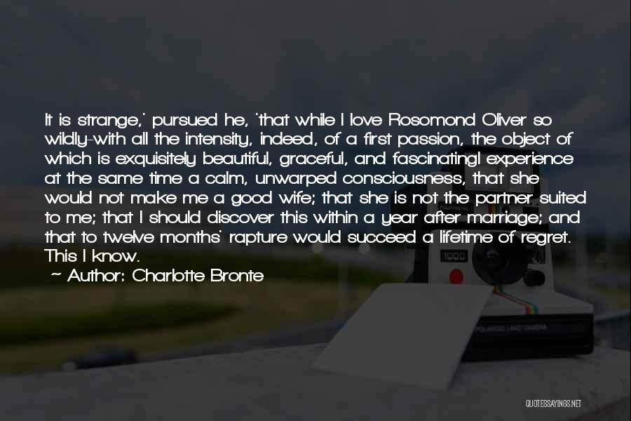 Intensity And Passion Quotes By Charlotte Bronte