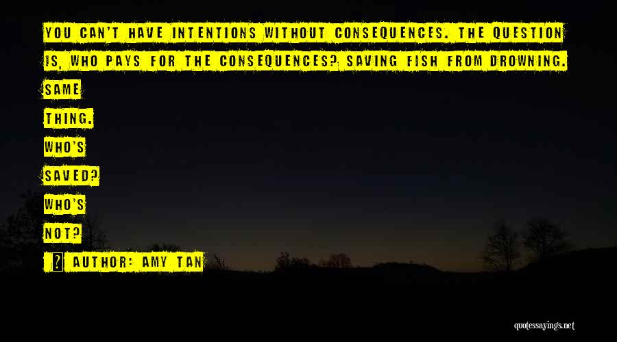 Intentions Quotes By Amy Tan