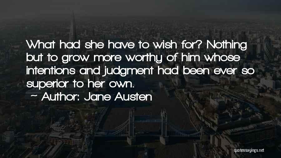 Intentions Quotes By Jane Austen
