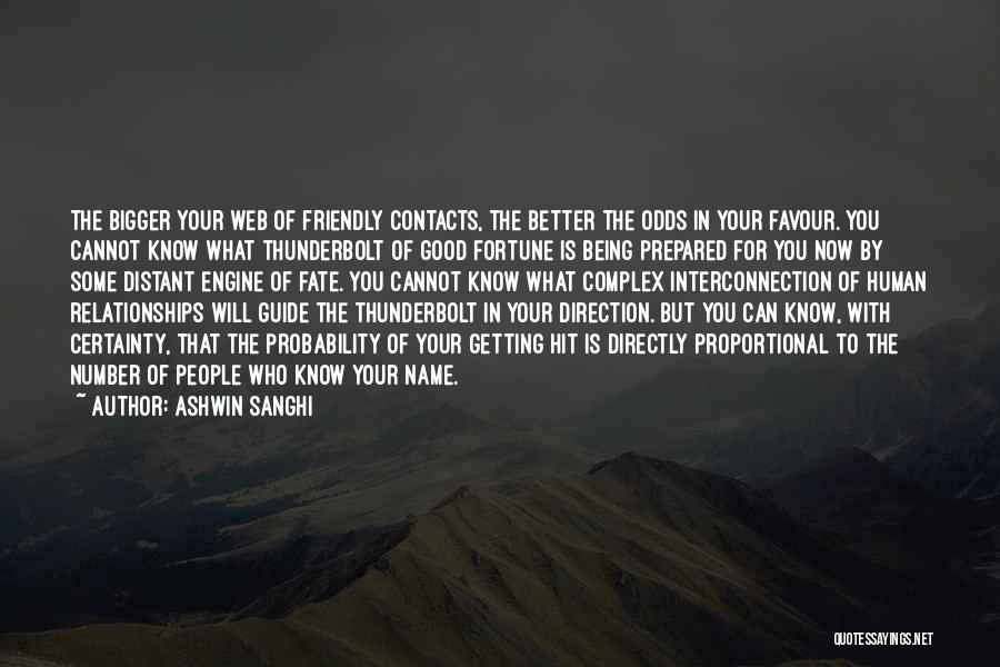 Interconnection Quotes By Ashwin Sanghi