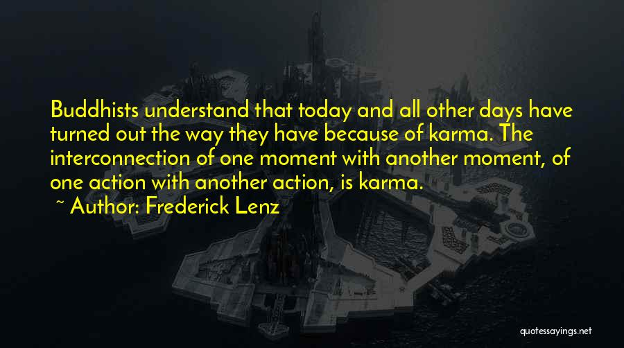 Interconnection Quotes By Frederick Lenz