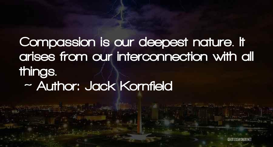 Interconnection Quotes By Jack Kornfield