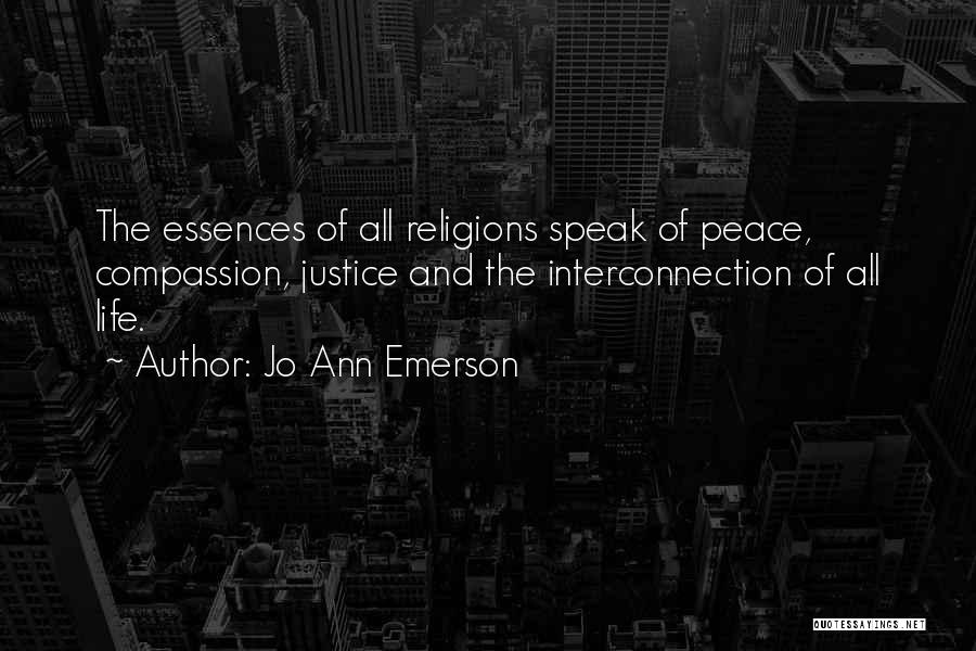 Interconnection Quotes By Jo Ann Emerson