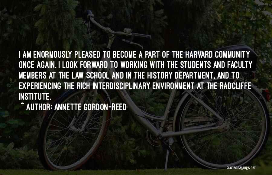 Interdisciplinary Quotes By Annette Gordon-Reed