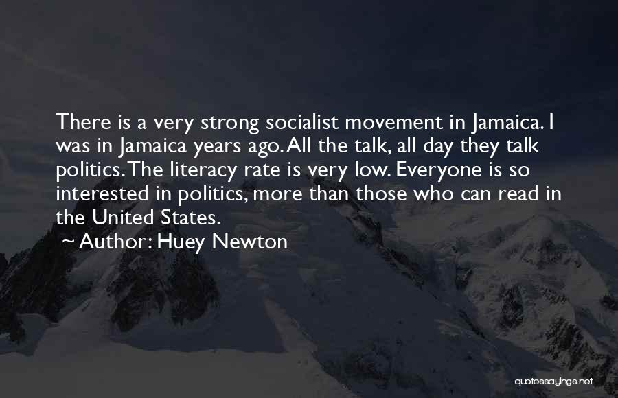 Interested In Politics Quotes By Huey Newton