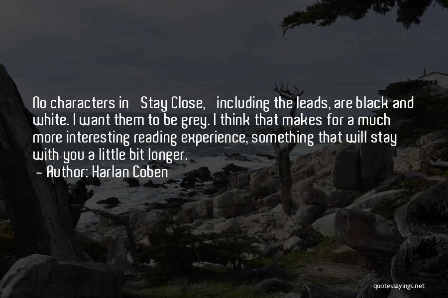 Interesting Characters Quotes By Harlan Coben