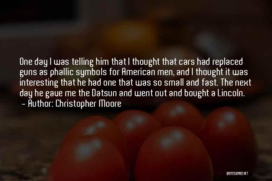 Interesting Day Quotes By Christopher Moore