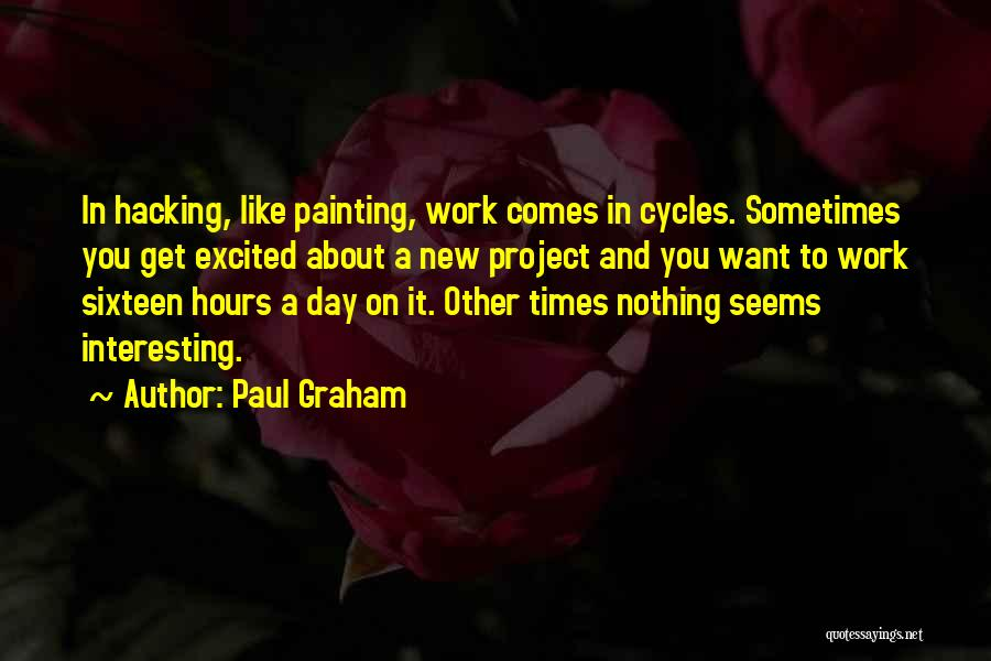 Interesting Day Quotes By Paul Graham