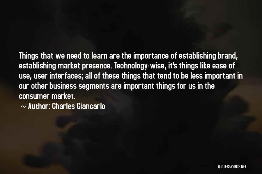 Interfaces Quotes By Charles Giancarlo