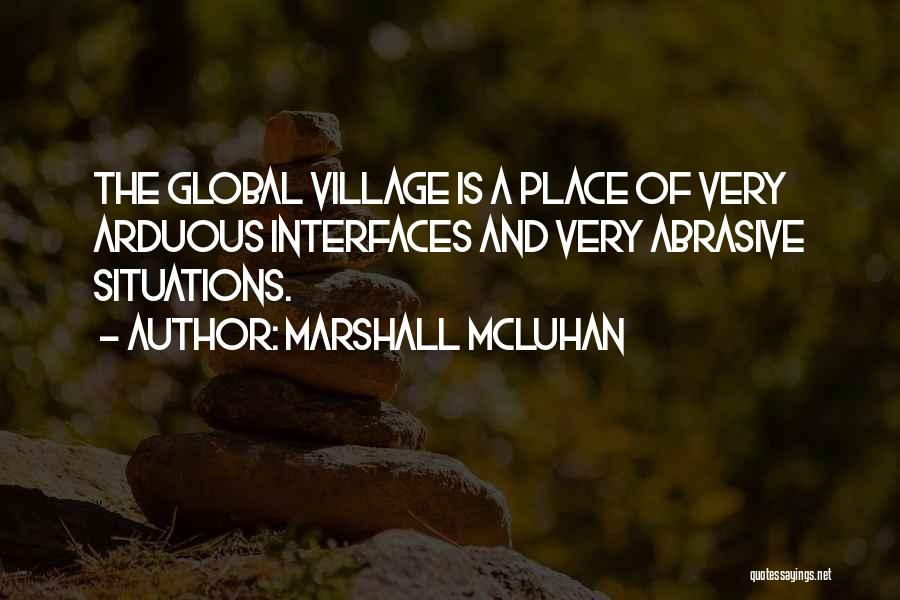 Interfaces Quotes By Marshall McLuhan
