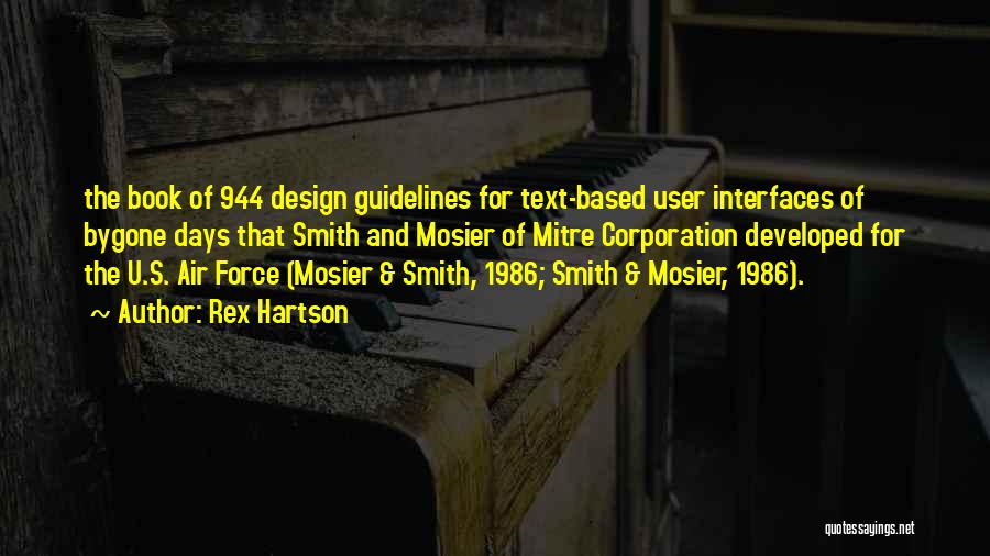 Interfaces Quotes By Rex Hartson