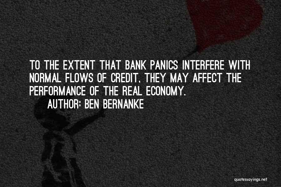Interfere Quotes By Ben Bernanke