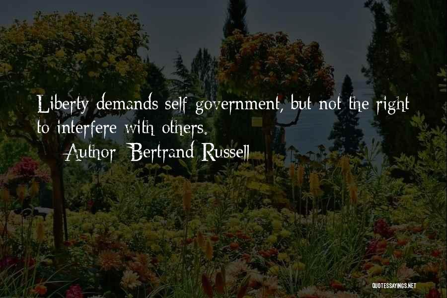 Interfere Quotes By Bertrand Russell