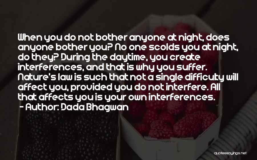 Interfere Quotes By Dada Bhagwan