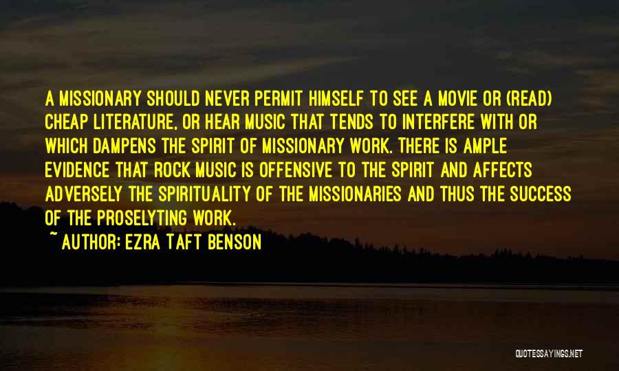 Interfere Quotes By Ezra Taft Benson