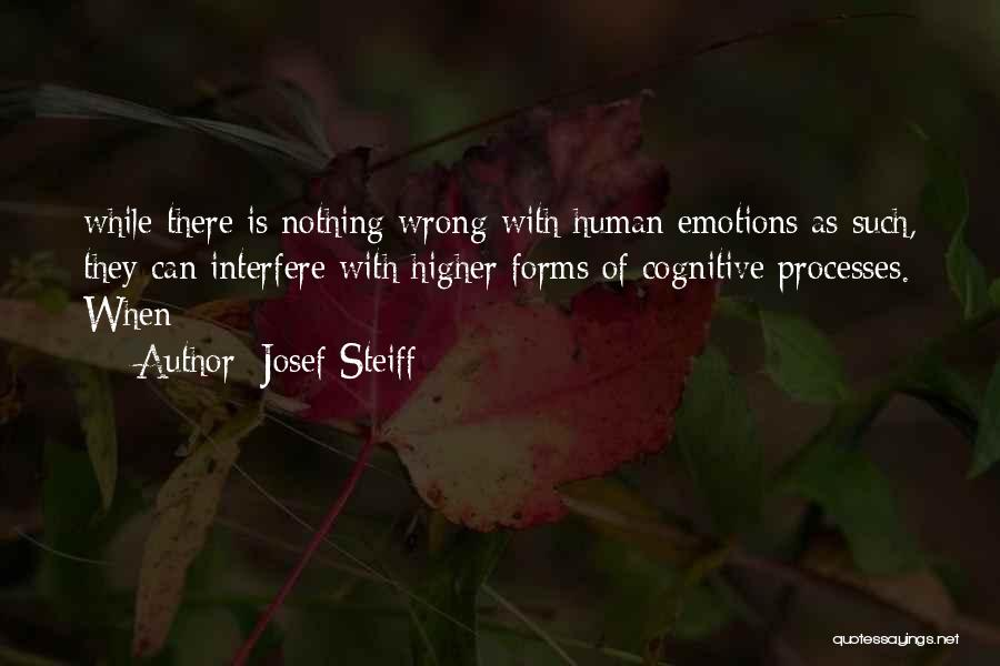 Interfere Quotes By Josef Steiff