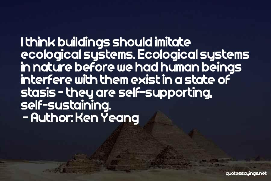 Interfere Quotes By Ken Yeang