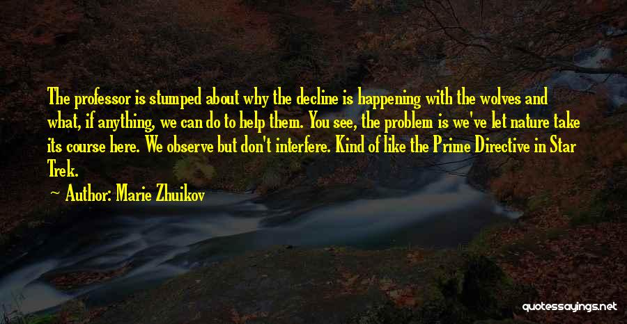 Interfere Quotes By Marie Zhuikov