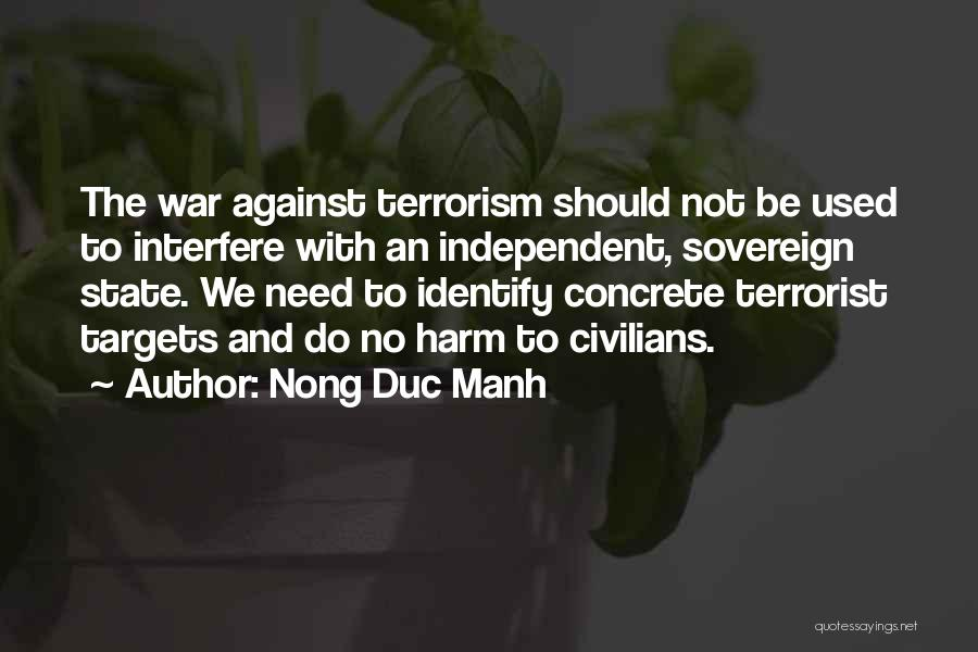 Interfere Quotes By Nong Duc Manh
