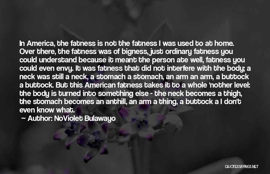 Interfere Quotes By NoViolet Bulawayo