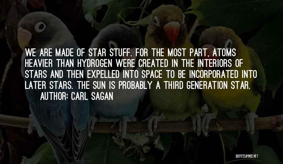 Interiors Quotes By Carl Sagan