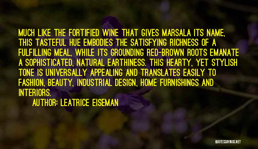 Interiors Quotes By Leatrice Eiseman