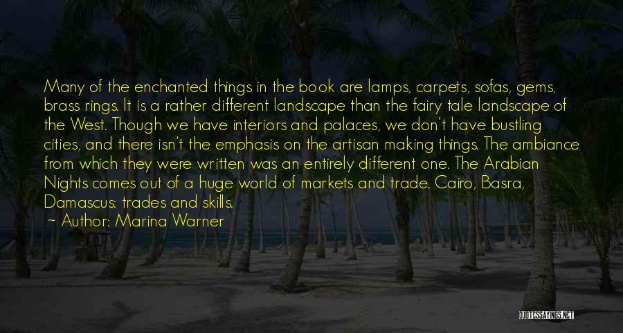 Interiors Quotes By Marina Warner