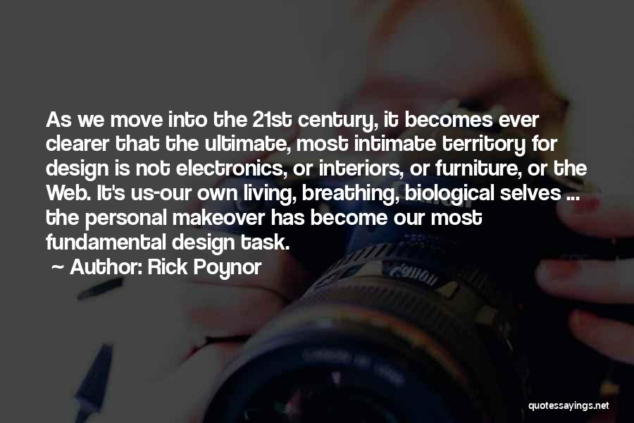 Interiors Quotes By Rick Poynor