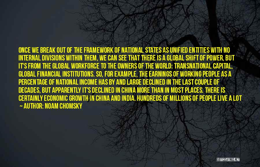 Internal Growth Quotes By Noam Chomsky