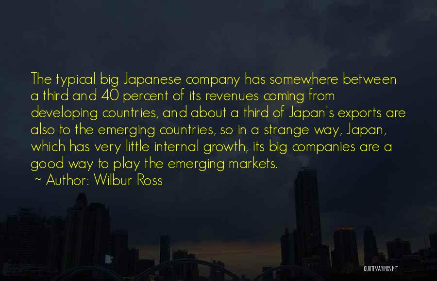 Internal Growth Quotes By Wilbur Ross