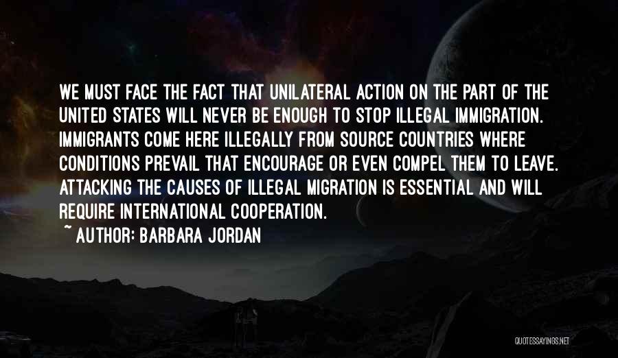 International Cooperation Quotes By Barbara Jordan