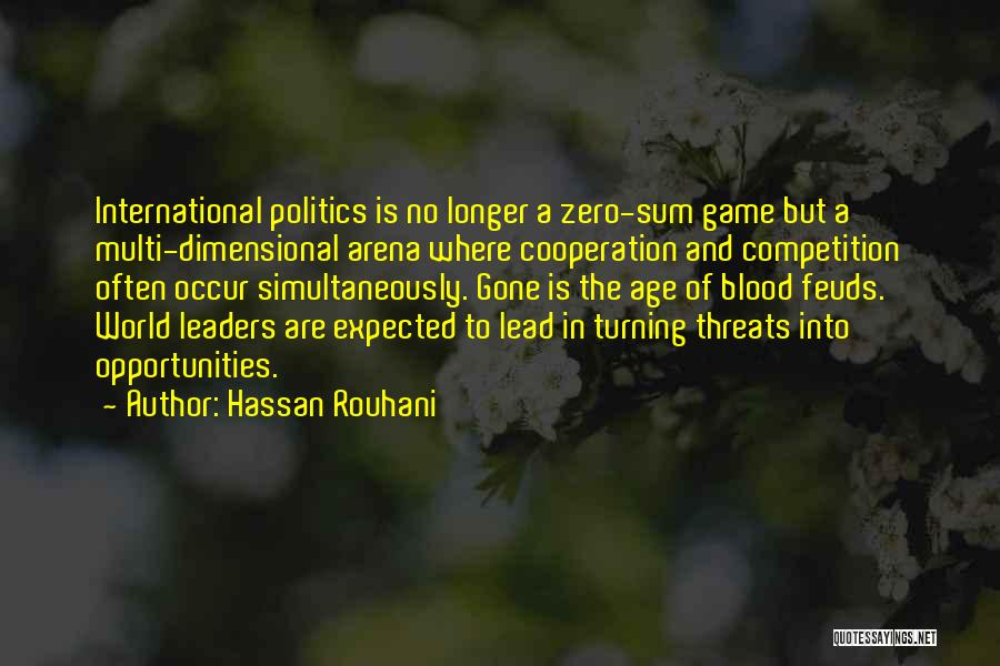 International Cooperation Quotes By Hassan Rouhani