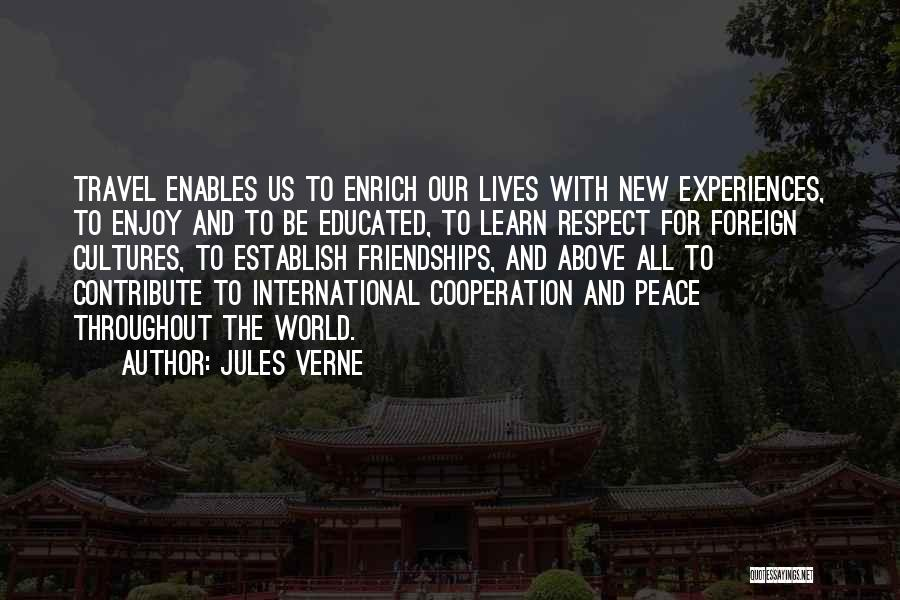International Cooperation Quotes By Jules Verne