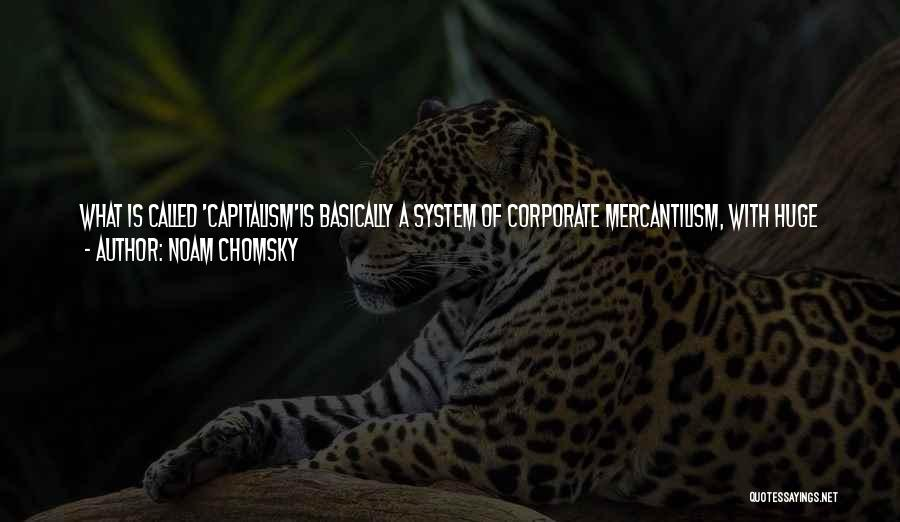 International Cooperation Quotes By Noam Chomsky