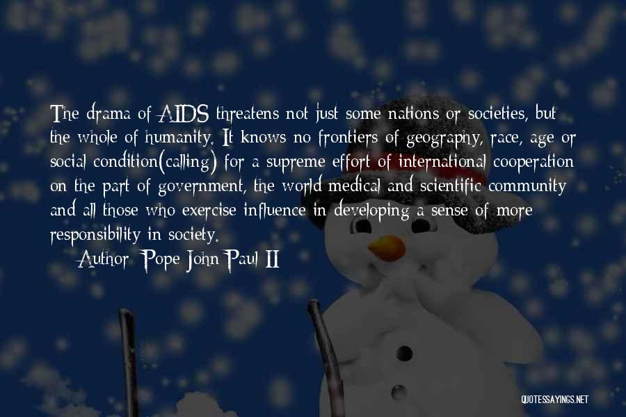 International Cooperation Quotes By Pope John Paul II