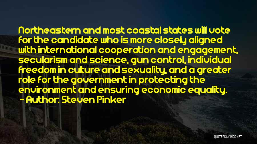 International Cooperation Quotes By Steven Pinker