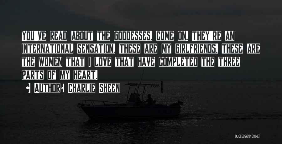 International Love Quotes By Charlie Sheen
