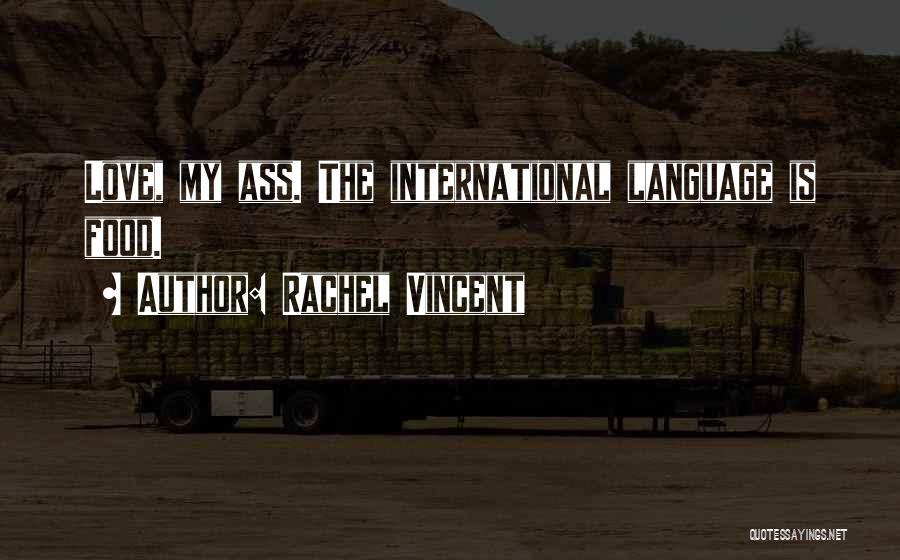 International Love Quotes By Rachel Vincent