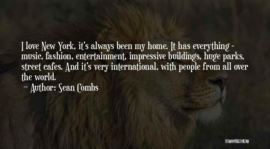International Love Quotes By Sean Combs