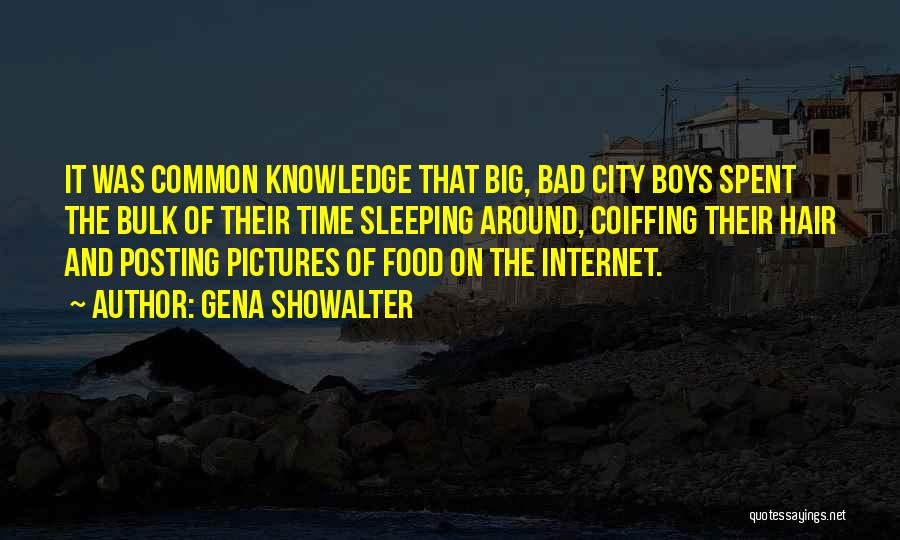 Internet And Knowledge Quotes By Gena Showalter