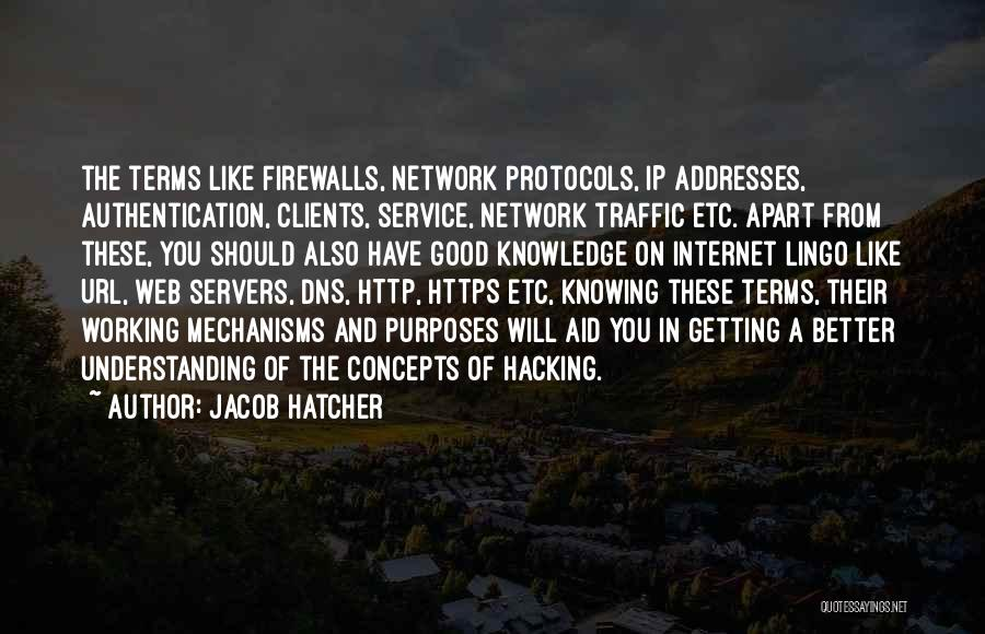 Internet And Knowledge Quotes By Jacob Hatcher
