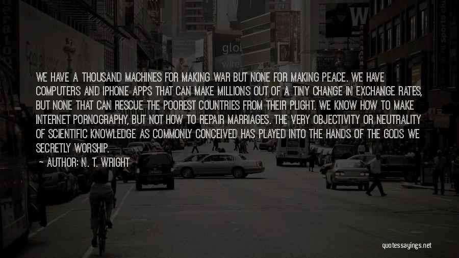 Internet And Knowledge Quotes By N. T. Wright