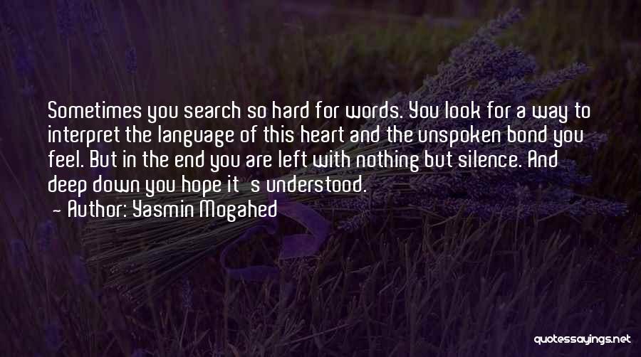 Interpret Bond Quotes By Yasmin Mogahed