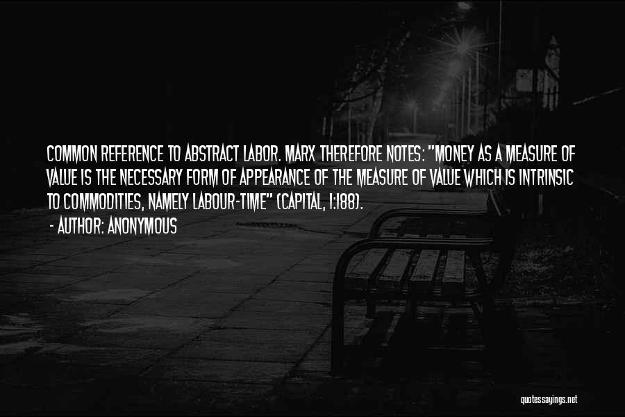 Intrinsic Value Quotes By Anonymous